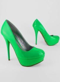 Neon Green Heels $39