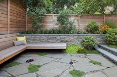 Boreum Hill Brownstone Garden - contemporary - Landscape - New York - New Eco Landscapes