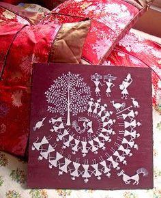 Warli Tribal Art...... The Warli s or Varli s are an indigenous tri...Contemporary Warli, tribal | warli warli painting, how to warli , indian warli painting, warli painting idea, how to make warli painting, indian arts, #warli #warlipainting