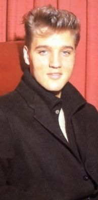 1956. The one and only Elvis.  Love him. Handsome, humble and so very talented.