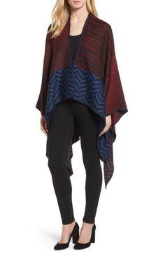 MISSONI Knit Wool Blend Cape. #missoni #cloth #