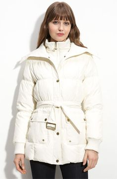 Betsy Johson coat - white actually works well because it is washable