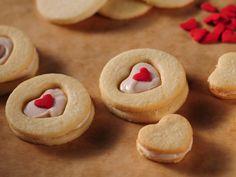Heartfelt snacks at Food Network