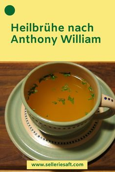 Healing broth after Anthony William Heilbrühe nach Anthony William Healing broth after Anthony William - Anthony William, Nutrition, Vegan Smoothies, Le Diner, Good Fats, Calories, Fruits And Veggies, Superfood, Food And Drink