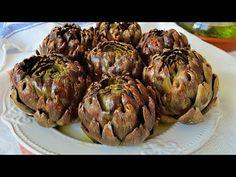 Alcachofas al horno. Irresistiblemente deliciosas. Receta muy fácil. - YouTube Allrecipes, Food And Drink, Healthy Eating, Vegetables, Cooking, Youtube, Magazine, Blog, Vegetarian