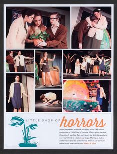 Layout Share: Little Shop of Horrors