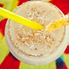 Skinny Toasted Coconut Colada