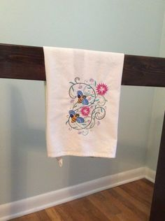 A personal favorite from my Etsy shop https://www.etsy.com/listing/521197421/bumble-bees-spring-embroidered-tea-towel