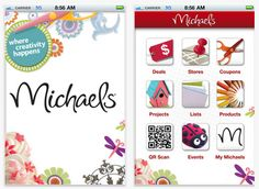 Download the Michael's app to your smartphone and never print your coupons again! YES!!