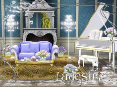 Ladesire's creative corner): Musical Room by Ladesire. She has some really cute and cool stuff, too!