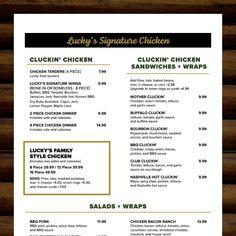 Lucky's At The Lodge — Google Local Chicken Wraps, Chicken Sandwich, Lucky Restaurant, Stuffed Mushrooms, Stuffed Peppers, Korean Bbq, Saute Onions, Garlic Sauce, Wrap Sandwiches