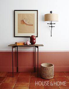 Earthy shades like terracotta, taupe, and rusty ochres look great when paired with soft beige, olive green or blush pink. | Photographer:Angus Fergusson | Designer: Morgan Michener and Kai Ethier