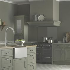Carisbrooke Taupe kitchen from B | Ten beautiful kitchens from B | housetohome.co.uk