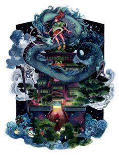 Hayao Miyazaki art show features stunning illustrations of Studio Ghibli classics   The Verge
