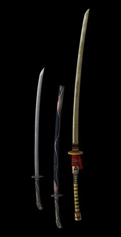 Samurai Weapons, Ninja Weapons, Anime Weapons, Samurai Art, Fantasy Katana, Fantasy Weapons, Armor Concept, Weapon Concept Art, Final Fantasy Xv