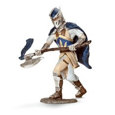 Schleich Griffin Knight with Axe. Part of the knights that fight for good!