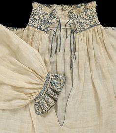 Shirt, ca. 1540, British, V&A T.112-1972