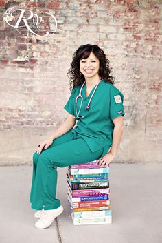 I love this nursing school graduation picture! So cute! 2 more years, but it'll be here before I know it