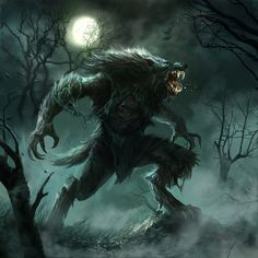 Werewolf by Fred Rambaud
