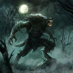 Werewolf by Fred Rambaud