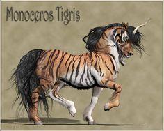 Monoceros Tigris by *Daio on deviantART