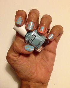 #manicura de pascuas #easter #manicure #celeste #lightblue #conejo #bunny http://amisqueridasmujeres.blogspot.com.es/ https://www.facebook.com/redlipsmakeup?ref=hl http://redlipsmakeupstudio.com/