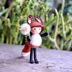 Tiny Fox by dreamalittle7 on Etsy
