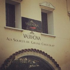 Valrhona chocolate HQ. Tain L'hermitage. Stopped here on our way from the Alps to the south of France.
