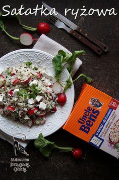 Kulinarne przygody Gatity: Sałatka z dzikim ryżem i rzodkiewkami
