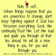 Note to self…Jan. – Note To Self – Daily Reminders For The BrokenHearted Faith Quotes, Bible Quotes, Godly Quotes, Biblical Quotes, Prayer Quotes, Spiritual Quotes, Note To Self Quotes, Motivation Positive, Daily Reminder