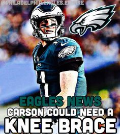 """REPORT: It is being reported that Carson Wentz (COULD) have to use a knee brace for this rest of his career. The Nova Care Complex said """"It is an RG3 type injury."""" This is horrible news for Carson and I don't expect him to be as mobile as he used to be.  Source: @phillyeaglesnews  Tags . . . #FlyEaglesFly #PhiladelphiaEagles #Eagles #CarsonWentz #AO1 #AlshonJeffery #JayAjayi #NFL #NFLFootball #EaglesFam #EaglesFTW #BirdGang #PhillyEagles #Philadelphia #BrotherlyLove #PhillyEaglesFam #Philly…"""