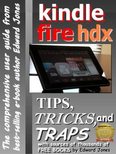 Kindle Fire HDX Tips, Tricks and Traps: A How-To Tutorial for the Kindle Fire HDX  by Edward Jones ($3.62) http://www.amazon.com/exec/obidos/ASIN/B00G2BK3VC/hpb2-20/ASIN/B00G2BK3VC I would highly recommend this guide for new Kindle users. - Is well written and easy to understand. - 20 top free apps must have great.