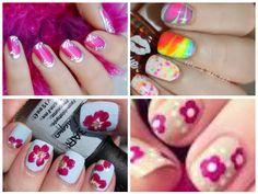 https://www.facebook.com/leovandesign #nailpolish #manicure #pedicure #polish #nail #design #flowers