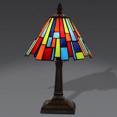 Lampade Da Tavolo Moderne Colorate.122 Fantastiche Immagini Su Lampade Da Tavolo Tiffany