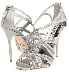 d74f2130b7d2 Silver Badgley Mischka Gloria Bridal Shoes  295.00  325.00