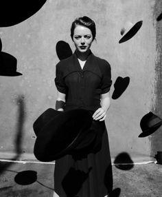 Emma Stone by Jack Davison for The New York Times Magazine (December 2016)