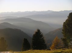 View from Rosengarten  Alto Adige
