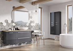 Kwadro Plus Collection na tablicy Bathroom Furniture. Meble Łazienkowe Teak, Bathroom Lighting, Oversized Mirror, Furniture, Design, Home Decor, Bathroom Light Fittings, Bathroom Vanity Lighting, Decoration Home