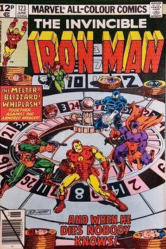 IRON MAN VS WHIPLASH #1-4 NEAR MINT COMPLETE SET SET 2010