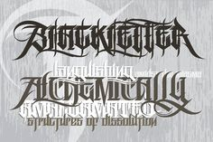 Ad: Rase Grimm - 3 Font Family by Graffiti Fonts® on The Rase Grimm family is a blackletter inspired graffiti style built for headline and display. This robust, OpenType family includes 3 Typography Drawing, Chicano Lettering, Graffiti Lettering Fonts, Creative Lettering, Script Lettering, Lettering Design, Number Tattoo Fonts, Tattoo Lettering Styles, Upper And Lowercase Letters