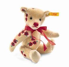 Classic Teddy bear Wild Rose by Steiff