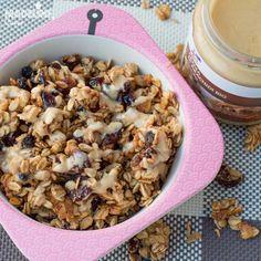 Cereale cu unt de arahide / Homemade peanut butter cereal