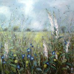 On a dreamy misty morning' Oil on linen - Marie Mills