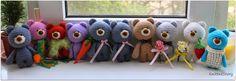 Knitted Story: Медведики! Много медведиков!
