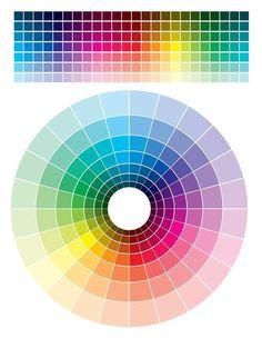 cmyk color wheel tints shades - Поиск в Google