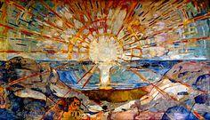 Edvard Munch (Norwegian, 1863–1944): Sun, 1914-1916.