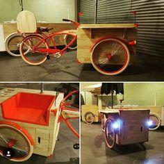 Truck Design, Bike Design, Coffee Carts, Coffee Shop, Food Trucks, Drift Trike, Foodtrucks Ideas, Tricycle, Simple Cafe