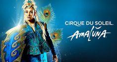 Cirque du Soleil AMALUNA poster