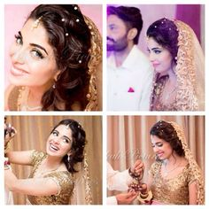 Gorgeous Source by lamiatasdemir Pakistani Bridal Hairstyles, Pakistani Bridal Makeup, Bridal Photoshoot, Indian Outfits, Indian Clothes, Wedding Couples, Bridal Dresses, Marie, Dream Wedding