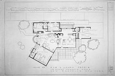 "Petrie's House Floor Plan from ""The Dick Van Dyke Show""  I dont know why but I love this!"